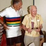Ron with Life Member, former President & Treasurer, Brian Doecke