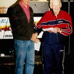 Ron with Life Member, Stan Wilton at Port Broughton