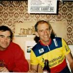 "John Kruger with ""best mate"" Martin Boas"