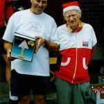 John Kruger with Life Member and former Secretary, Ron Jenkins