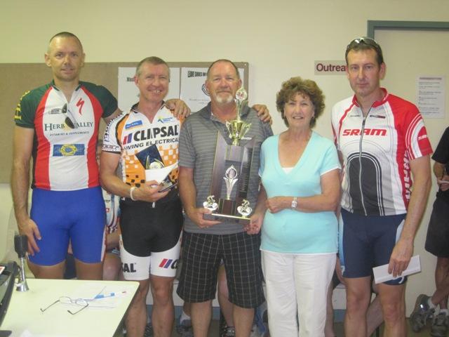 Simon Cooper, Mike Hoile, Cotton family members, Scott Allen