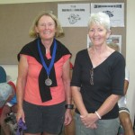 L-R:  Pat McCrohan, Liz Jones (Secretary)