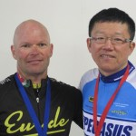 L-R:  David Grigg, Zheng Li