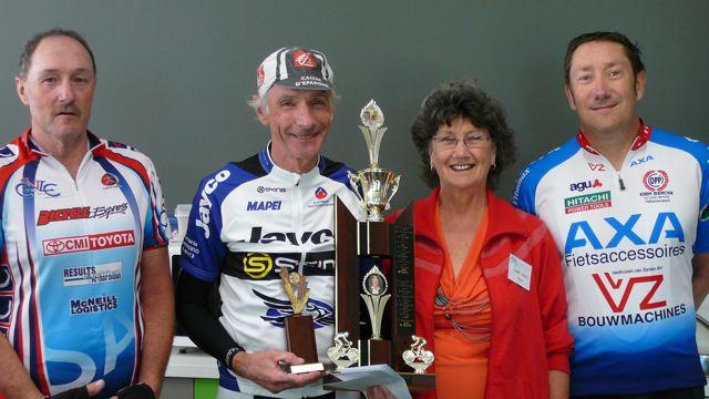 Gavin White, Rod Hurley, Sheila Cotton,