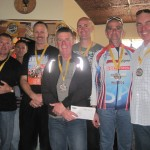 L-R:  Team McNeill Logistics - Kevin Murphy, Kevin Hannaford, Dale McNeill, Dave Pocock, Rino Esposito, John Stallard