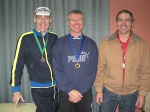 L-R:  Geof Boylan-Marsland, Mike Hoile, Andrew van Arend