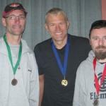 L-R:  Mark Cramond, Davin Harding, Darren Wintulich