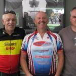 L-R:  Vern Braithwaite, Ray Boyle, Dave Kanas