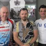 L-R:  John Stallard, Darren Wintulich, Rob Gaggini