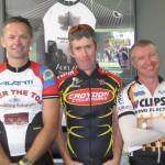 L-R:  Simon Cooper, R Clark, Mike Hoile