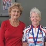 L-R:  Carlien Doecke (Patron), Liz Jones