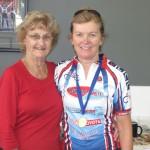 L-R:  Carlien Doecke (Patron), Audrey Donsen