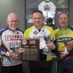 L-R:  John Duncan, Rob Sturman, Gavin White