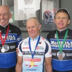 L-R:  John Stallard, Malcolm Clasholm, Steve Kinder