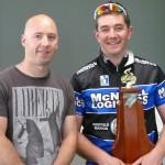 L-R:  Brett Aitken, Matt Stones