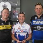 L-R:  Jonathan Skogstad, Neil McKenzie, Brenton Thain