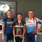 L-R:  Chris Page, Alissa Byron, Dave Kanas