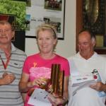 L-R:  Chris Attrill, Audrey Donsen, John Malycha