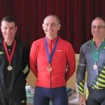 L-R: Nicholas Steel, Michael Davies, Andrew Van Arend