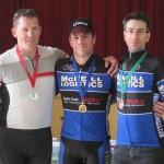 L-R: Wesley Garrett, Mark Faulkner, Mark Drake