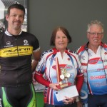 L-R: Josh Maksimovic, Kath Jones, Marty Nieuwenhoven
