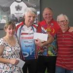 Div 2 L-R: Nicola Edwards, Jim Hamilton, Lindsay Davie (sponsor), Brian Hargreaves