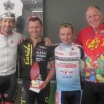 Div 1 L-R: Steve Morris, Shane Finney, Greg Ford, Lindsay Davie (Sponsor)