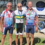 L-R: Marty Nieuwenhoven, Rob Freak, Raey de Ross