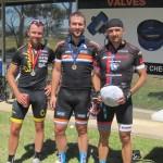 L-R: Shane Finney, Nathanael Brown, William Hall