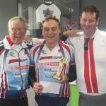 L-R:  Leen Nieuwenhoven, Charles Maddern, Lee Bakes